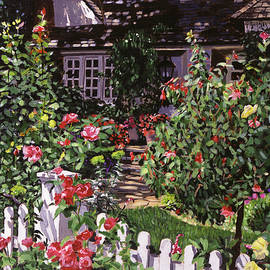 David Lloyd Glover - Country Rose Cottage