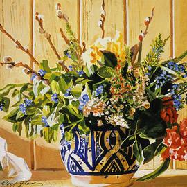 David Lloyd Glover - Country Spring Still Life