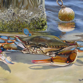 Phyllis Beiser - Crab On The Shoreline