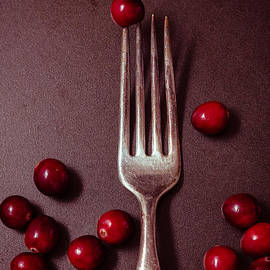 Cranberries and Fork - Ana V  Ramirez