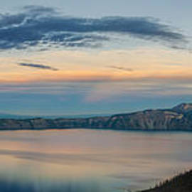 Beve Brown-Clark Photography - Crater Lake Evening