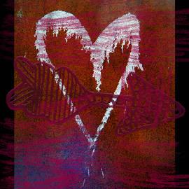 Tamara Kulish - Crayon and Rusted Heart Rust