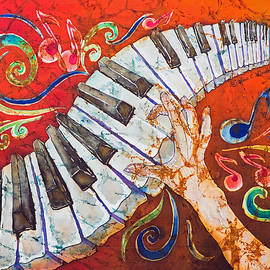 Sue Duda - Crazy Fingers - Piano Keyboard