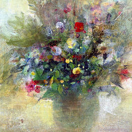 Natalia Rudzina - Creamy Mix Flower Bouquet