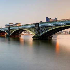 David Henderson - Cremorne Bridge Over The Thames
