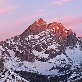 Aaron Spong - Crestone Sunrise Panorama