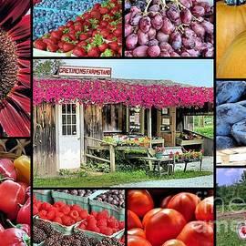 Janice Drew - Cretinons Farmstand Collage