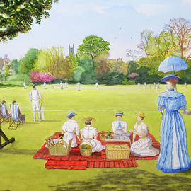 David Godbolt - Cricket Match circa 1910
