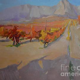 Alexander Shandor - Crimean vineyards