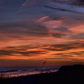 Evie Carrier - Crimson Sunset Isle of Palms
