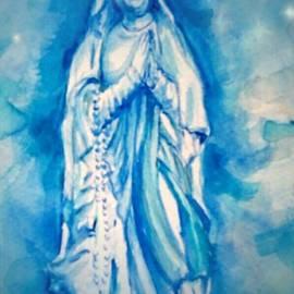 Patricia Ducher - Crowned Virgin of Lourdes