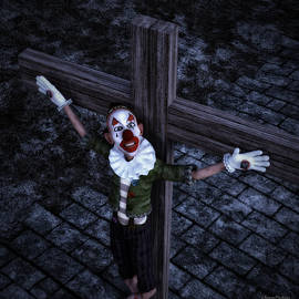 Ramon Martinez - Crucified Clown