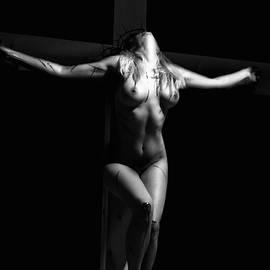 Ramon Martinez - Crucified woman