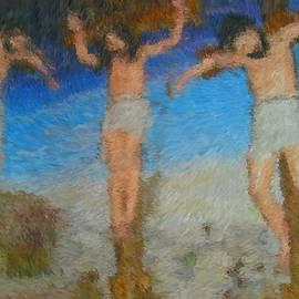 Mike La Muerte Giuliani - Crucifixion