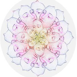 Silvina Castillo - Crystal Woman Mandala