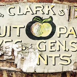Hal Halli - C.S. Clark vintage sign