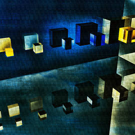 Ramon Martinez - Cubes reflection