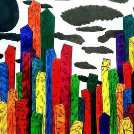 Neal Alicakos - Cubic Skyscrapers