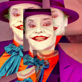 Dominic Piperata - Cubist Joker