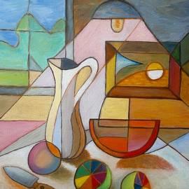 Stefan Silvestru - Cubist Still Life