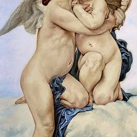 Heidi Kriel - Cupid and Psyche Reproduction William Adolphe Bouguereau