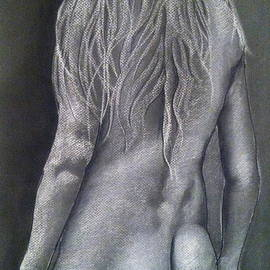 John Nelson - Curved Back Of A Female Nude