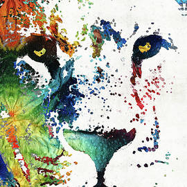 Custom Lion Art - Sharon Cummings