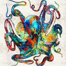 Custom Octopus Art - Sharon Cummings