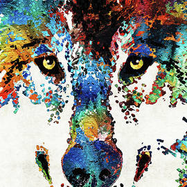 Custom Wolf - Sharon Cummings