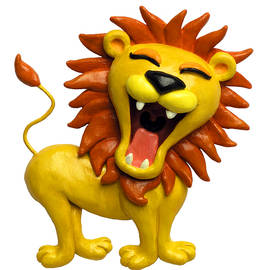 Amy Vangsgard - Cute Lion Roaring