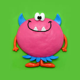 Amy Vangsgard - Cute Pink Monster