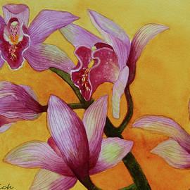 Kerri Ligatich - Cymbidium Orchids