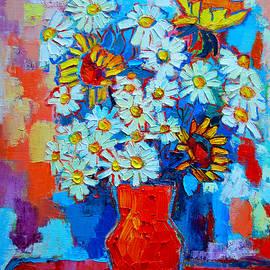 Ana Maria Edulescu - Daisies And Sunflowers