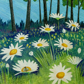 Michele Fritz - Daisies By the Lake