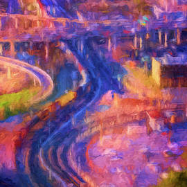 Joan Carroll - Dallas Traffic Abstract