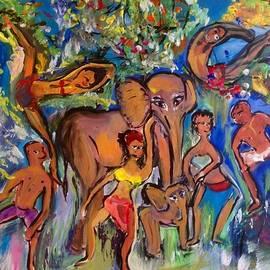 Judith Desrosiers - Dance with Elephants