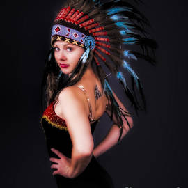 Nude Impact - DANCER and FEATHERS  ...