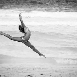 Lisa Lemmons-Powers - Dancer on Beach