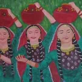 Aurokanya Chattopadhya - Dancing Damsels