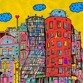 Nico Bielow - Dancing House Prague by Nico Bielow