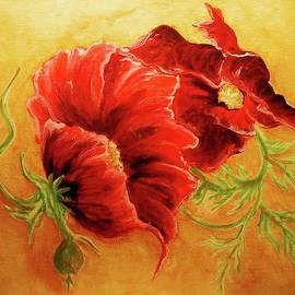 Diana Dearen - Dancing Poppies
