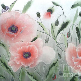 Angelina Roeders - Dancing poppies. Left part.