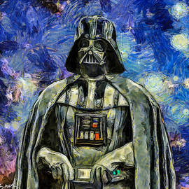 Tommy Anderson - Darth Vader - Oil