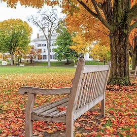 Dartmouth Hanover Green in Autumn - Edward Fielding