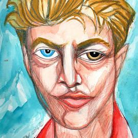 Genevieve Esson - David Bowie In Red Shirt