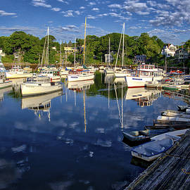Steven Ralser - Dawn at Perkins Cove - Maine