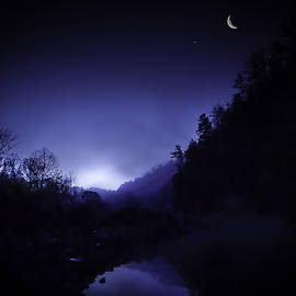 Phil Rispin - Dawn on the Lower Mountain Fork River
