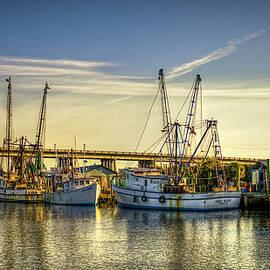 Reid Callaway - Dawns Early Reflections Tybee Island Shrimp Boat Art