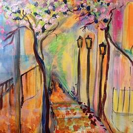 Judith Desrosiers - Day for a stroll in France