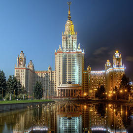 Alexey Kljatov - Day to night at Lomonosov Moscow State University